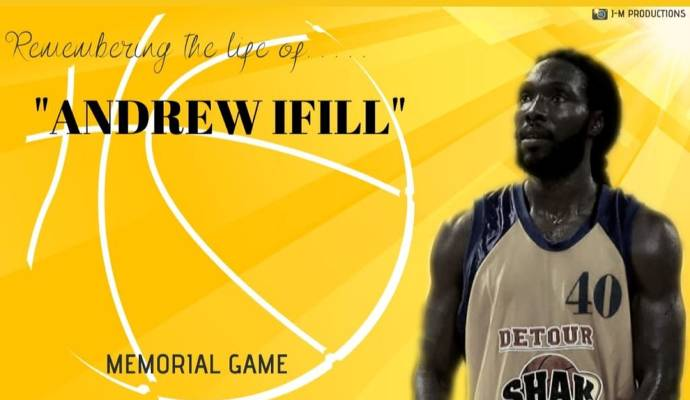 Andrew Ifill, who played for Maloney Pacers, Detour Shak Attack, Royal Extra Lion and Petro Jazz during his basketball career her in T&T.